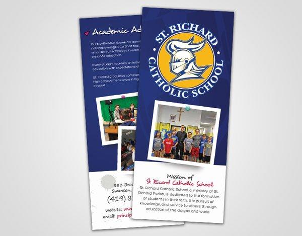 St. Richard Brochure - Design